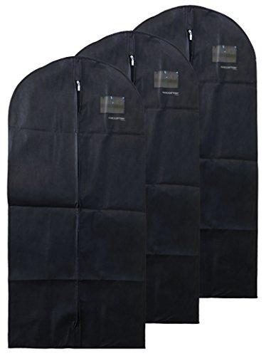 Porta Abiti | Set da 3 Pezzi | Tessuto Leggero | Traspirante | Abbigliamento Protetto e Conservato