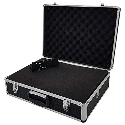 ROC Cases Flight Carry Case with Foam and Carry Strap (L460 x W330 x H150mm)