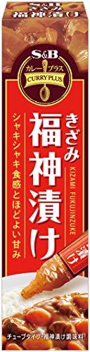 エスビー食品 カレープラス きざみ福神漬け 40g ×10本