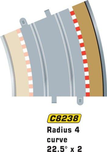 Hornby France - C8238 - Scalextric - Voiture - Bordures et barrières extérieures