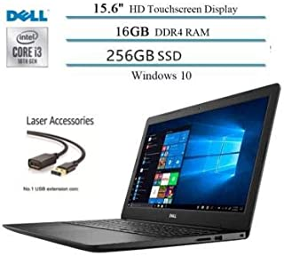"2020 Dell Inspiron 15.6"" Touchscreen Laptop Business/Student, 10th Gen Intel i3-1005G1(Up to..."