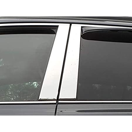 Stainless Pillar Post Trim fit for 2010-2014 Subaru Legacy 4DR LUXFX2230