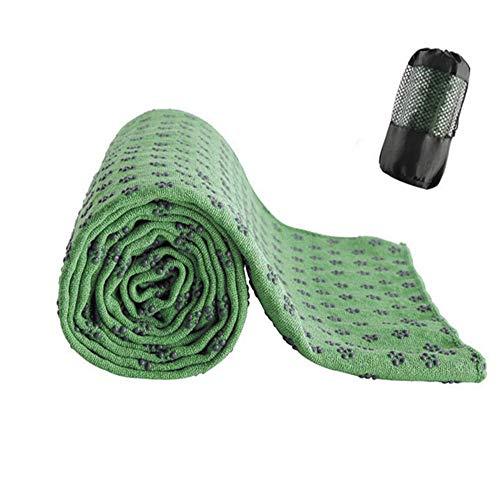 HAPPYX Non-Slip Yoga Towel, Super Soft Superior Adsorption Non- Slip Quick Dry for Yoga,...
