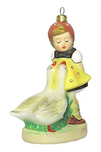 Hummel Manufaktur Hummel Figur Weihnachtsbaumschmuck Gänseliesel, original MI Hummel Collection, im Geschenkkarton