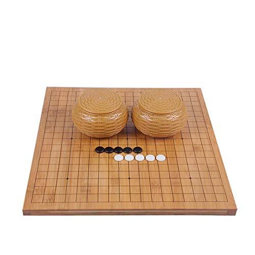 Mankvis - Game Go-Spiel, Strategie-Brettspiel, einschließlich Schüssel und Stein 18,5 '' * 17,3 ''