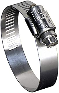 Ideal Tridon 670040072051#72 Stainless Steel Worm Drive Clamp with 305 Stainless Steel Screw, 3