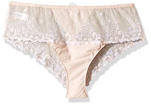 Simone Perele Damen Delice Boyshort Panty Unterhosen, Jungen, Blush, small