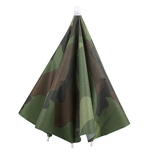 Portable Fishing Headwear, Practical Folding Fishing Rain Hat, for Camping Outdoor Activities Fishing Hiking
