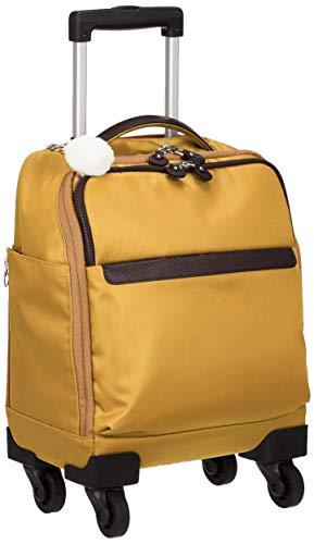 [カナナ プロジェクト] スーツケース カナナマイトロリー サイレントキャスター搭載 ソフトキャリー 100席未満機内持込み対応 南京錠付き 14L 55271 機内持ち込み可 33 cm 1.8kg ローアンバー