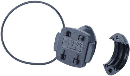 Teasi Halter Fix Hard Lenkerhalter, schwarz, 4 x 3 x 5 cm