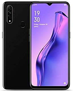 "Oppo A31 Smartphone, 6.5"" Display, 64GB, 4GB - Black"