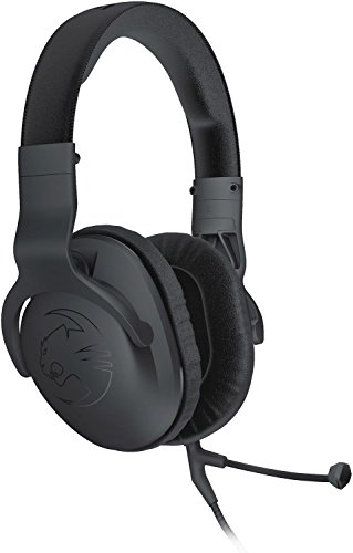 ROCCAT Cross Multi-Plattform Over-Ear Stereo Gaming Headset für PC / Mac / PS4 / Xbox One (Treiber: 50mm) schwarz
