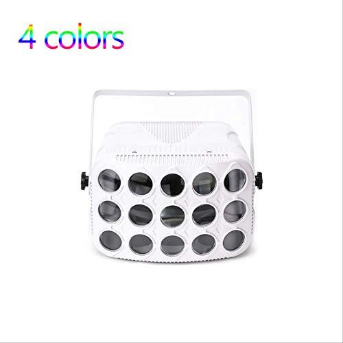 Dmx Disco, Beam 90 – 240 V Mariposa luz cuadrada, luz profesional de escenario de iluminación de escenario de luz de día festivo, proyector de color de 4 colores