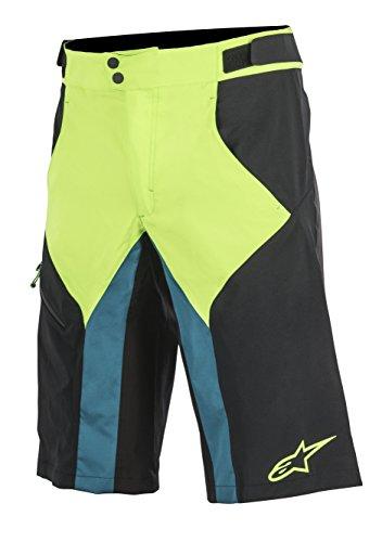 Alpinestars Herren Shorts Outrider, Herren, Black Bright Green, Size 28