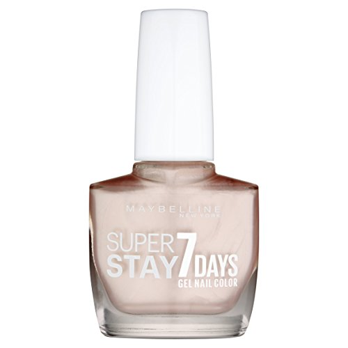 Maybelline New York Nagellack Superstay 7 Days City Nudes Nummer 892 dusted pearl, 1er Pack (1 x 10 ml)