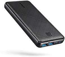 Powerbank Anker PowerCore Essential, 20000 mAh externe accu met PowerIQ technologie en USB-C ingang, enorme...