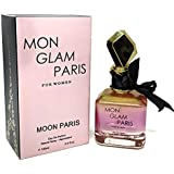 J&H MON GLAM PARIS, Eau de Parfum Spray for Women, Woody Fragrance, Perfect Gift, Daytime and Casual Use, for all Skin Types, 3.4 Fluid Ounce