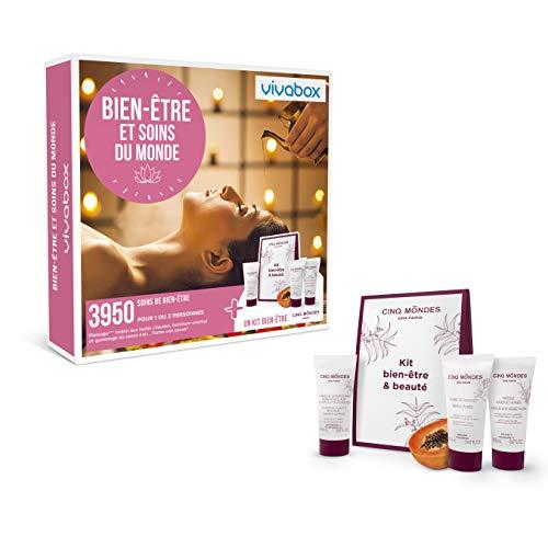 Vivabox - Coffret cadeau femme - BIEN-ETRE ET SOIN DU MONDE - 3950 soins bien-être + 1 kit fraîcheur