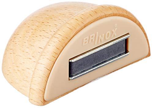 Brinox B78280H Tope retenedor de madera con imán, Haya, 4.8x3.6x2.5 cm