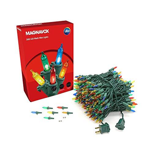 MAGNAVOX 300lt Multi Colored LED Smooth Mini Set Light String