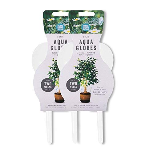 We Search You Save Green Life Aqua Globes Bewässerungssystem für Innen- und Außenbereich, 4 Stück