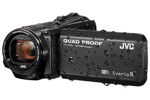 JVC GZ-RX605 FHD Quad-Proof 10MP 40x Zoom Wi-Fi Tough Camcorder - Matt...