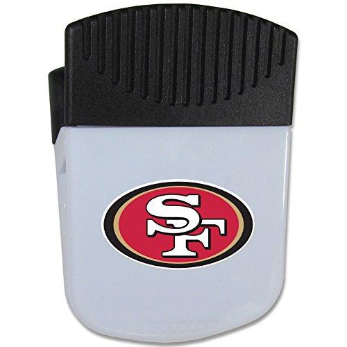 NFL Siskiyou Sports Fan Shop San Francisco 49ers Chip Clip Magnet with Bottle Opener Single Team Color