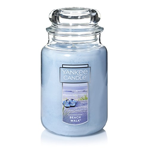 Yankee Candle Grote kaars in glas, Beach Walk, 625 ml