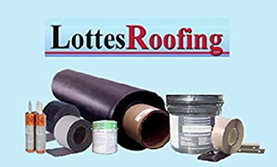 30' x 35' Commercial or Residential 60 mil Black EPDM Roofing Kit