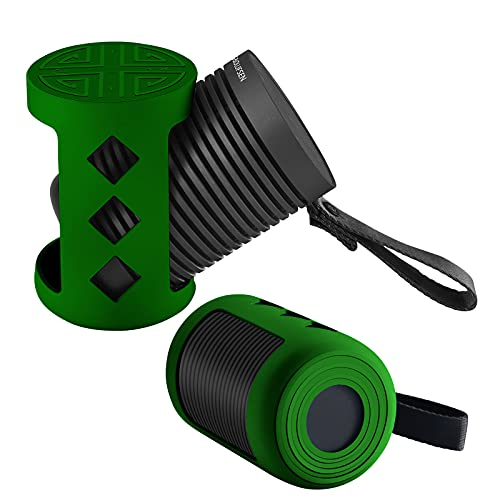 Funda de silicona para Bang & Olufsen Beosound Explore – Funda inalámbrica para altavoz Bluetooth al aire libre, B&O Beosound Explore Skin Travel Case (verde)