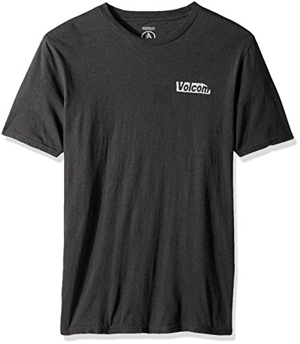 Volcom Liberate Stone Short Sleeve T-Shirt Small Black