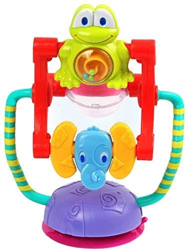 BJINDH Bebé de Dibujos Animados Bebé Juguete Mano Bells Juguetes de bebé 0-12 Meses Teeting Dentation Safe Development Infantil Educativo Educativo Bebé Juguetes Juguetes Educativos