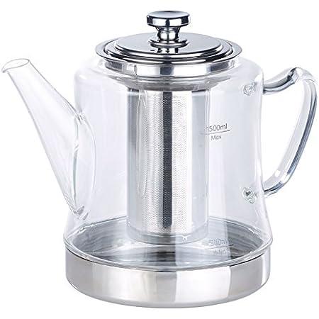 Teekanne2,6LVolumenCaydanlikEmailleTeekocher Induktion geeignet