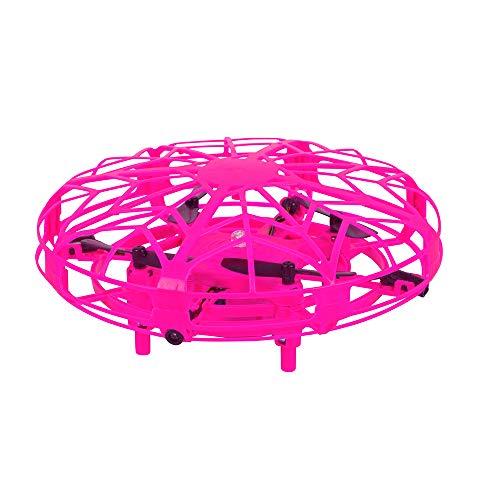 Maginon TQC-1, Kinderdrohne, Indoor Mini-Drohne für Kinder. Kinderleicht zu Fliegender Quadro-Copter in pink