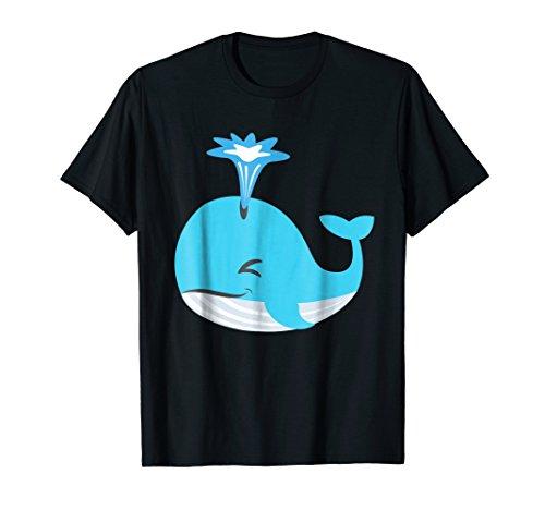 Whale Mammal Humpback Emoji Emoticon Cute Funny T Shirt Tee