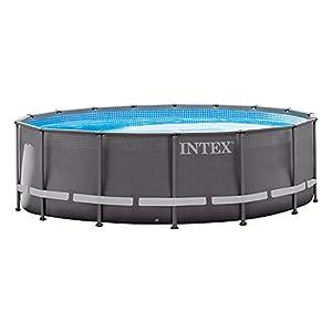 INTEX Pool Ultra Frame - Piscina (975 x 488 x 132 cm): Amazon.es ...