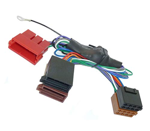 Aktivsystemadapter ISO für Audi | Porsche | VW | Seat mit Bose Soundsystem
