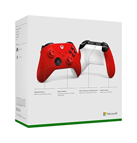 Xbox Wireless Controller Pulse Red - 6