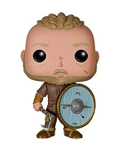 TN Studio Funko Pop Vikings : Ragnar Lothbrok Figure Gift Vinyl 3.9inch/10cm For Boys TV Fans Chibi,10CM