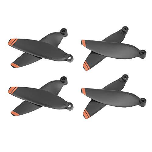 Juego De Hélices para Drones, Peso Ligero 2 Pares De Hélices para Drones para Mini 2(Borde Naranja)