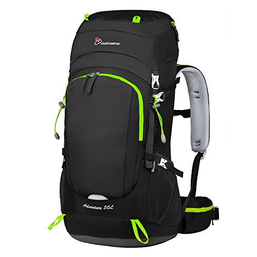 MOUNTAINTOP 50L Rucksack Hiking/Trekking Backpacks for Travel Mountaineering Bags unisex