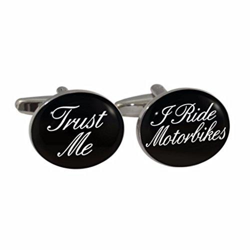 Preisvergleich Produktbild Trust Me I Ride Motorräder Manschettenknöpfe in Geschenkbox