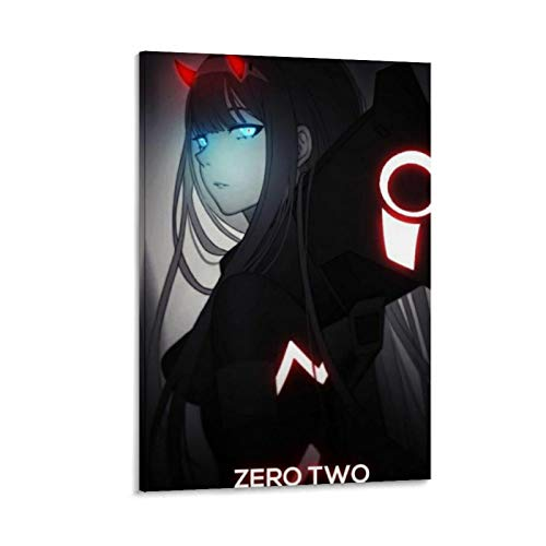 HJGHJ ROUNDMEUP Darling in The Franxx Poster Decorative Painting Canvas Wall Art Living Room Posters Bedroom Painting 24x36inch(60x90cm)