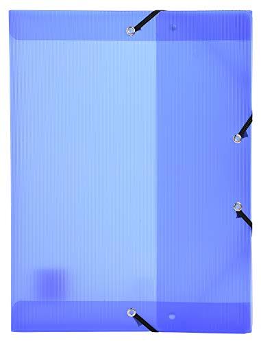 Exacompta 59772E - Carpeta de proyecto con goma, color azul ⭐