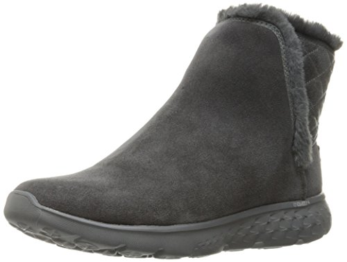 Skechers Performance Women's On The Go 400 Cozies Winter Boot,Charcoal,8.5 M US