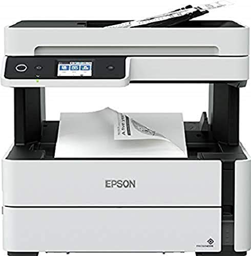 Epson EcoTank ET-M3180 Multifunction 4-in-1 A4 B & W Duplex PCL USB WiFi Ethernet Etail Retail