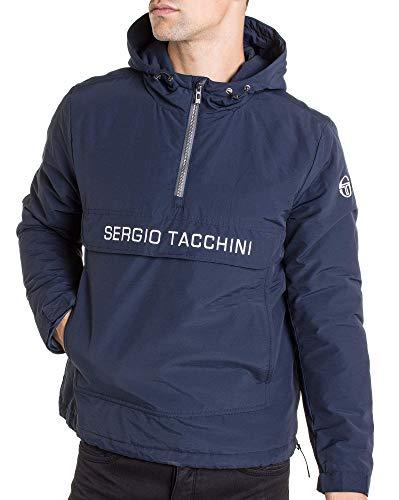 Sergio Tacchini - Abrigo - Chaqueta - Manga larga - para hombre azul L