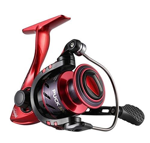 RongWang Carrete Giratorio 4.9: 1 5.2: 1 Carrete De Pesca 13KG Potencia Máxima De Arrastre Rueda Giratoria Pesca De Fundición Larga 2000-6000 (Color : Red, Size : 5000 Series)