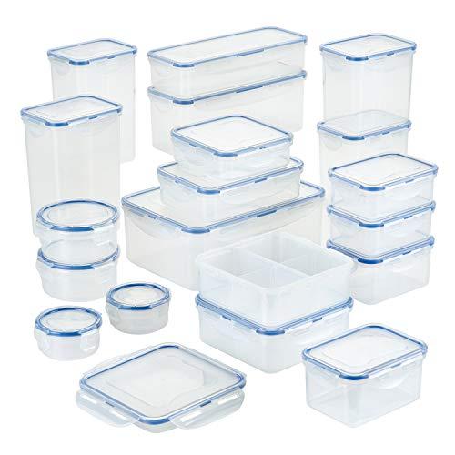 Lock & Lock HPL826S19 38-Piece Storage Container Set Aufbewahrungsdosen aus Kunststoff, plastik, durchsichtig