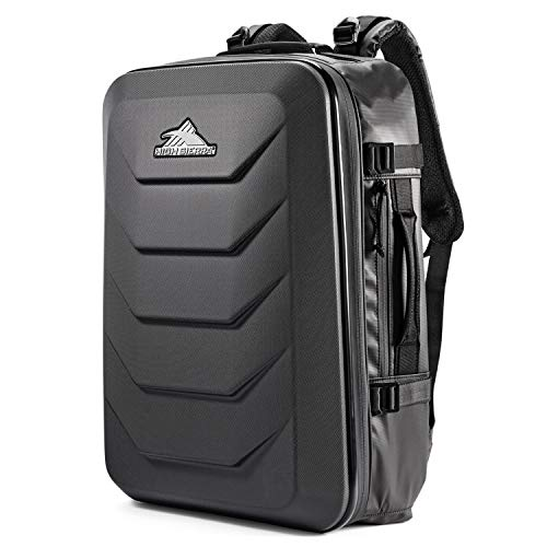 High Sierra OTC 35L Carry-on Weekender Suitcase Luggage - Ideal for Travel and Laptop Backpack Black